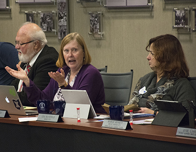 February 2018 Board of Trustees meeting