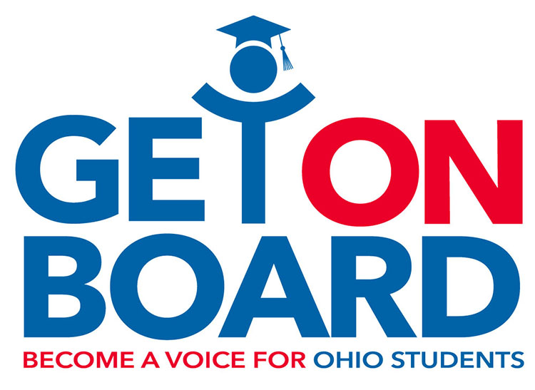 Get on Board Ohio logo