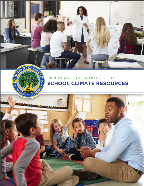 Us Education Department Releases >> U S Department Of Education Releases Guide To School Climate