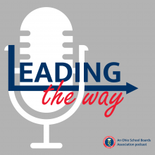 Leading the Way podcast logo