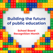 School Board Recognition Month 2021 logo