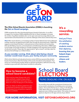 2021 OSBA Get On Board Ohio frequently asked questions